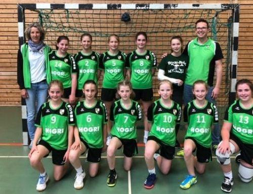 Hervorragender 2. Platz für die weibliche Handball C-Jugend