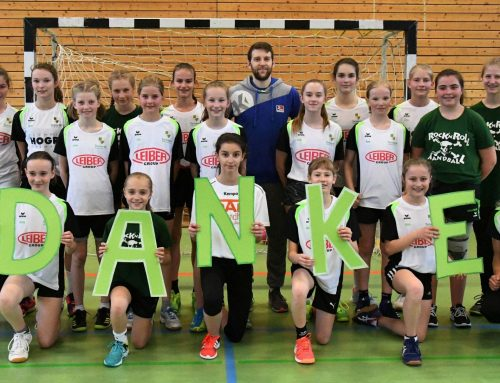 HBW-Profi trainiert Spaichinger Handball-Mädels