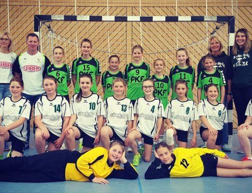 Weibliche D1-Handballjugend Turniersieger