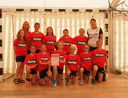Handball-Jugend besucht Allgäu-Cup in Wangen – weibliche D-Jugend mit Platz 1; weibliche E- und männliche C-Jugend wurden 2. –