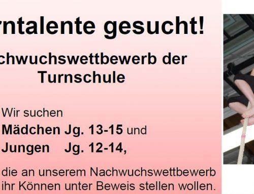 Einladung zum Tag des Talents der Turnschule Spaichingen