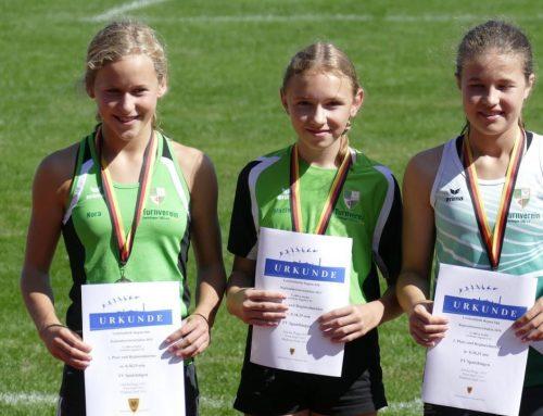 Regionalmeister in der 3x800m Staffel