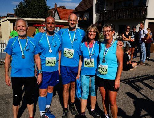 Lauftreff TV Spaichingen beim 53. Schwarzwald-Marathon in Bräunlingen
