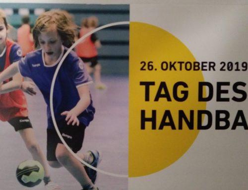 Einladung zum Tag des Handballs am 26.10.2019