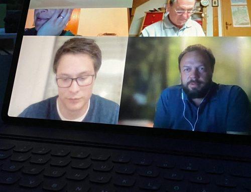 1. Vorstanssitzung via Skype