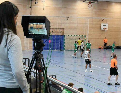 Mehr als 360 Zuschauer beim 1. Handball-Livestream