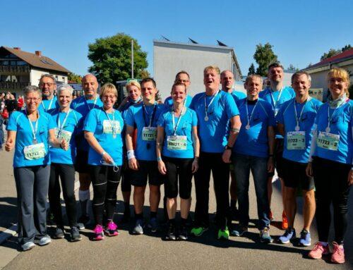 Erfolgreiche Teilnahme am Staffel- und Halbmarathon in Bräunlingen